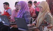 Perangkat Desa Babakan Mengikuti Pelatihan Dasar Komputer di Puspindes